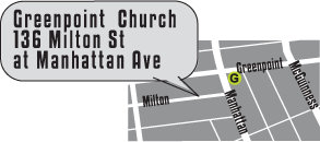 Greenpoint Brooklyn Subway Map.Directions Greenpoint Church